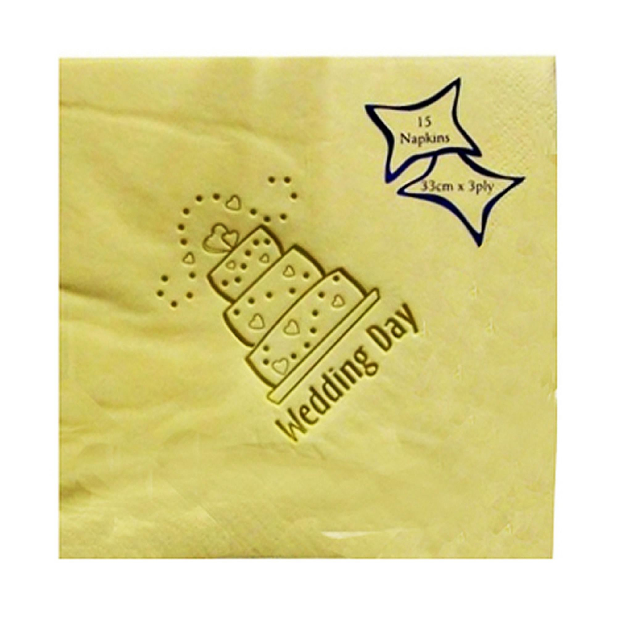 NPK 60th Birthday Foil Printed Napkins Pack Of 15