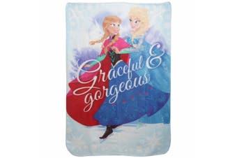 Disney Frozen Childrens Girls Graceful & Gorgeous Fleece Blanket (Multicoloured) (One Size)
