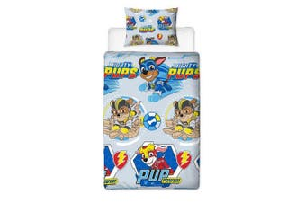 Paw Patrol Super Rotary Single Duvet Set (Multicoloured) (One Size)
