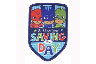 PJ Masks Save The Day Rug (Blue) (One Size)