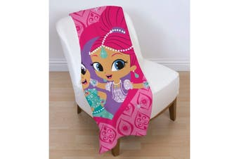 Shimmer And Shine Zahramay Fleece Blanket (Pink) (One Size)
