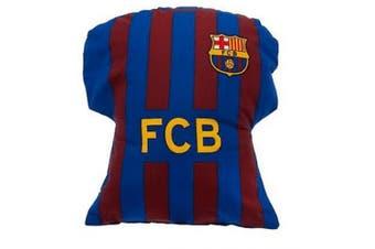 FC Barcelona Kit Cushion (Multicoloured) (One Size)