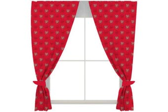 Arsenal FC Curtains (Red) (One Size)