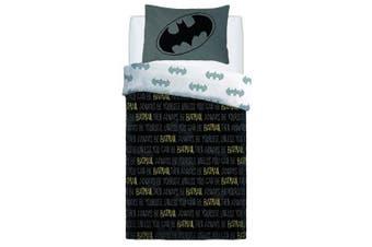 Batman Forever Childrens/Kids Reversible Duvet Set (Multicoloured) (Double)