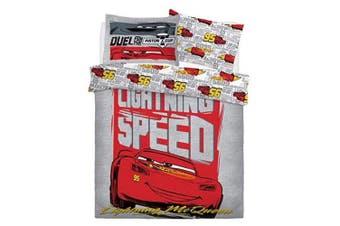 Cars Lightening Speed Boys Reversible Duvet Set (Multicoloured) - UTSI328