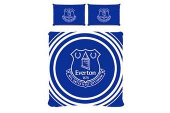 Everton FC Pulse Duvet Set (Blue/White) - UTSI367