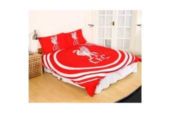 Liverpool FC Pulse Duvet Set (Red/White) - UTSI412