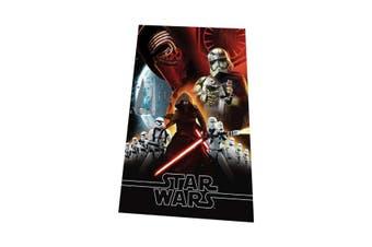 Star Wars Childrens/Kids Force Awakens Fleece Throw Blanket (Black) (One Size)