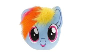 My Little Pony Dash Filled Cushion (Blue) (One Size)