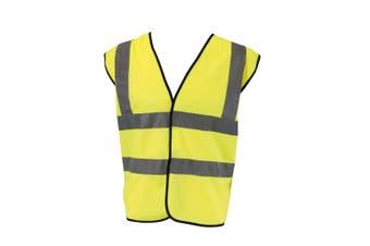Glenwear Class 2 High Vis Vest (Yellow) - UTST1236