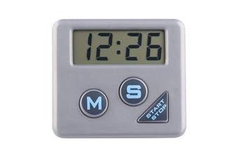 Chef Aid Kitchen Digital Timer (Silver) (One Size)