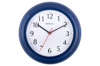 Acctim Wycombe Wall Clock (Blue) (One Size)
