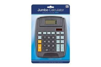 A Star Jumbo Calculator (Black) (One Size)