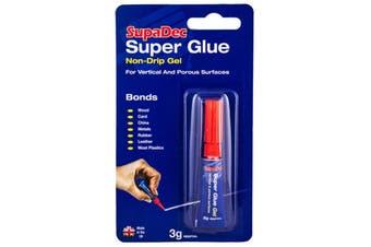 SupaDec Super Glue (Blue/Red) (3g)