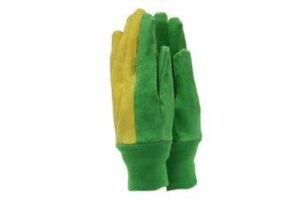 Town & Country Essentials Unisex Gardener Gloves (Green/Yellow)