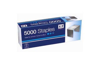 Anker Staples (Pack of 5000) (Silver) (One Size)