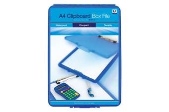 Anker Clipboard Box File (Blue) (One Size)