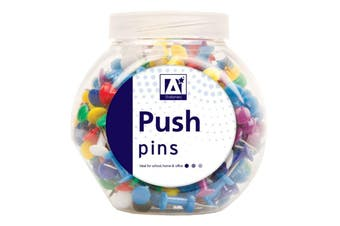 Anker Push Pins in Tub (Multicoloured) (One Size)