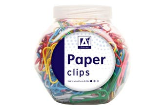 Anker Paper Clips in Tub (Multicoloured) (One Size)