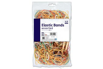 A Star Elastic Bands (Multicoloured) (One Size)
