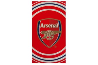 Arsenal FC Pulse Towel (Red) (One Size)