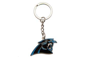 Carolina Panthers Keyring (Black/Blue) (One Size)