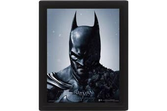 Batman Framed 3D Picture (Multicoloured) (One Size)