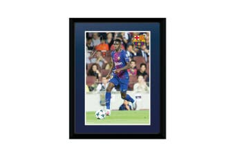 FC Barcelona Dembele 8 x 6 Picture (Multicoloured) (One Size)