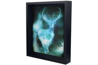Harry Potter Framed 3D Patronus Picture (Blue) (One Size)