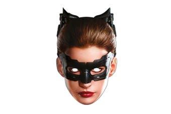 Batman The Dark Knight Catwoman Mask (Multicolored) (One Size)