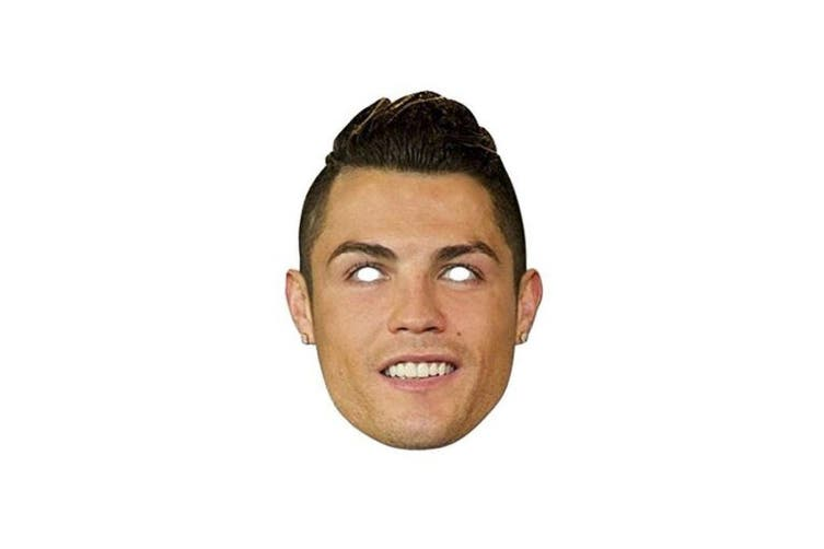 Real Madrid CF Cristiano Ronaldo Mask (Multi Coloured) (One Size)