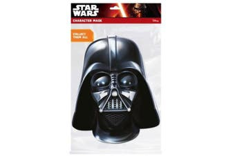 Star Wars Darth Vader Mask (Black) (One Size)