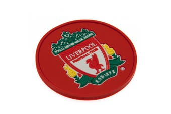 Liverpool FC Official Silicone Coaster (Red) (One Size)