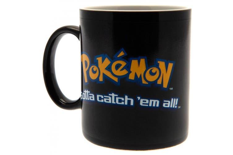 Pokemon Heat Changing Mug (Black) (One Size)