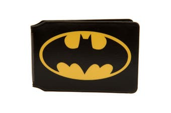 Batman Card Holder (Black/Yellow) (10 x 7.5cm)