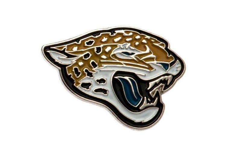 Jacksonville Jaguars Badge (Multicoloured) (One Size)