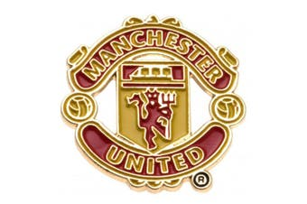Manchester United FC Badge (Red) (One Size)