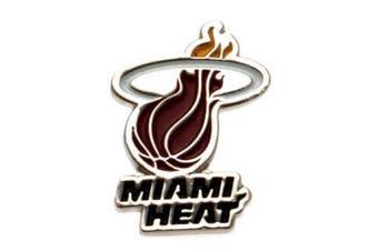 Miami Heat Badge (Multicoloured) (One Size)