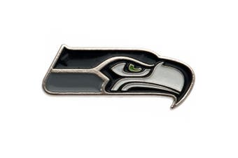 Seattle Seahawks Badge (Black) (One Size)