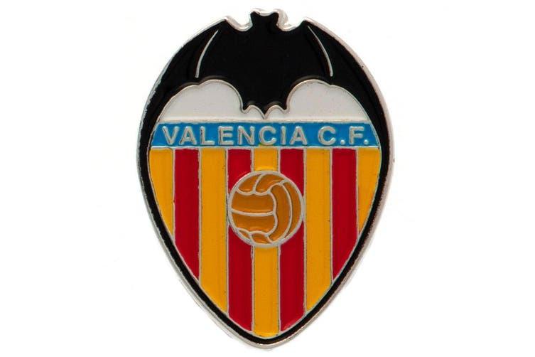 Valencia CF Badge (Multicoloured) (One Size)