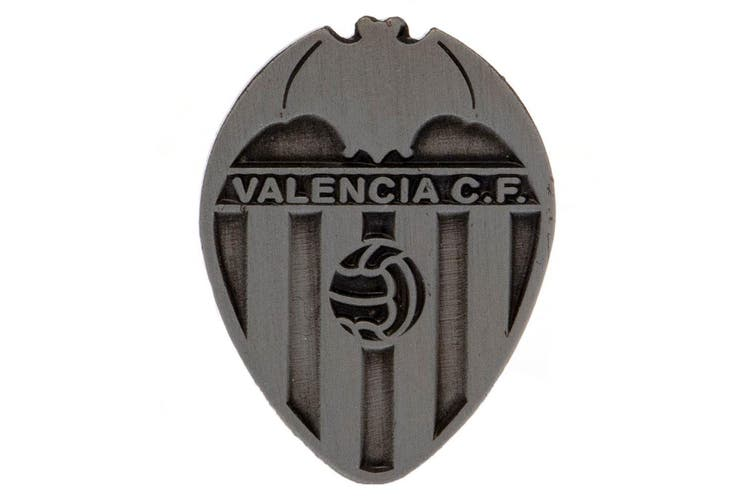 Valencia CF Antique Silver Badge (Silver) (One Size)