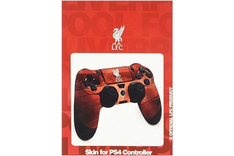 Liverpool FC Official PS4 Controller Skin (Red) (One Size)