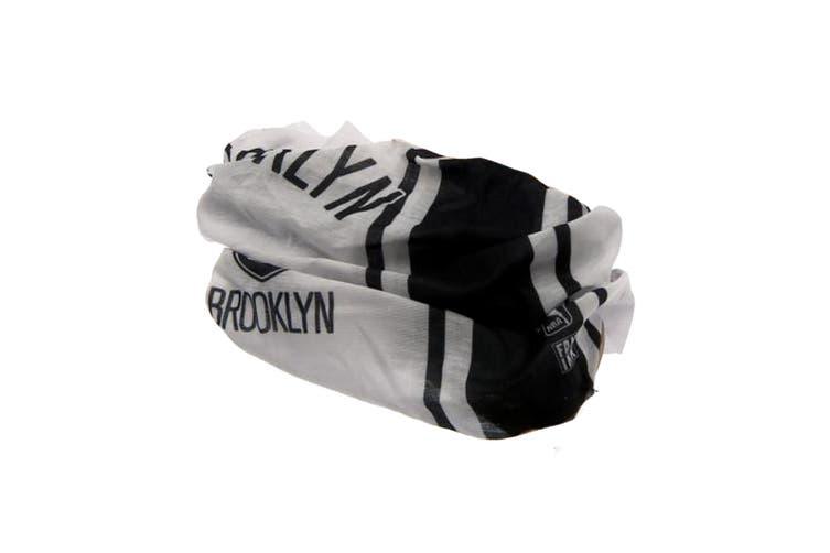 Brooklyn Nets Head Tube (Black/White) (One Size)