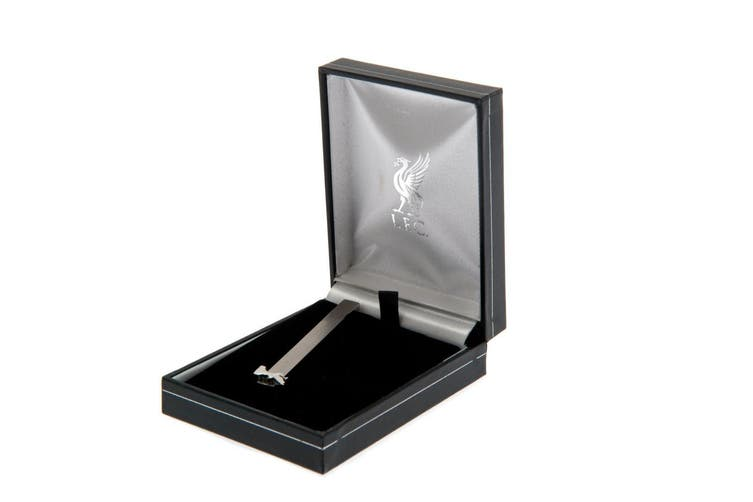 Liverpool FC Stainless Steel Tie Slide (Silver) (One Size)