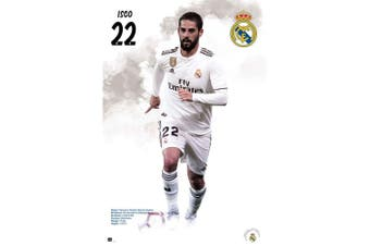 Real Madrid CF Isco Poster (White) (One Size)