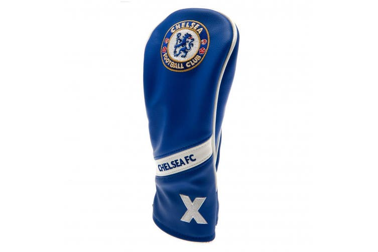 Chelsea FC Official Heritage Rescue Headcover (Blue/White) (One Size)