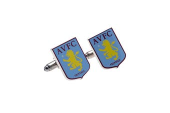Aston Villa FC Cufflinks (Multicoloured) (One Size)