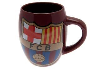 FC Barcelona Official Tea Tub Mug (Burgundy) (One Size)