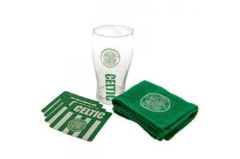 Celtic FC Official Mini Bar Set (Green/White) (One Size)