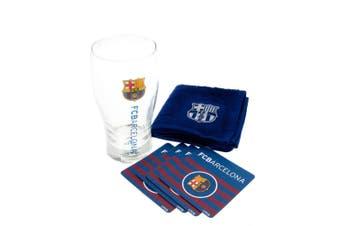 FC Barcelona Official Mini Bar Set (Blue/Burgundy) (One Size)